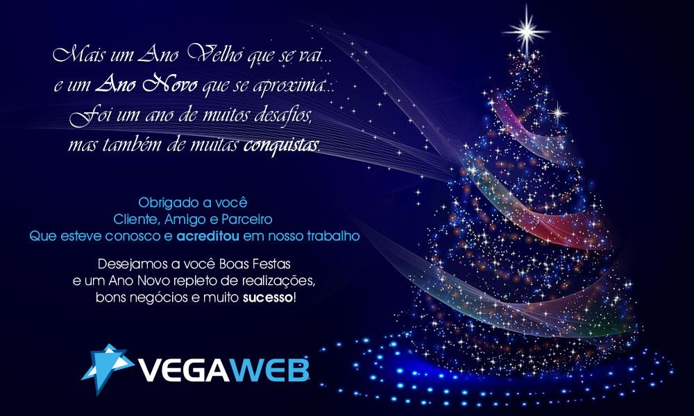 Cartão de Natal Vega Web 2017