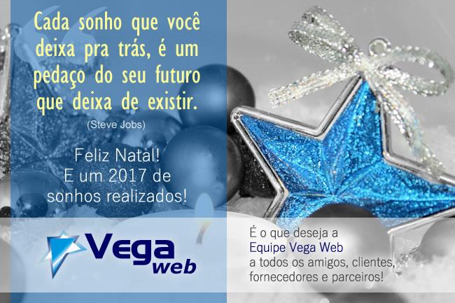 Cartão de Natal Vega Web 2016