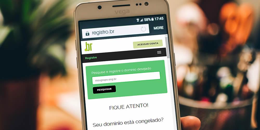 Registro.br lança novo domínio Ong.br