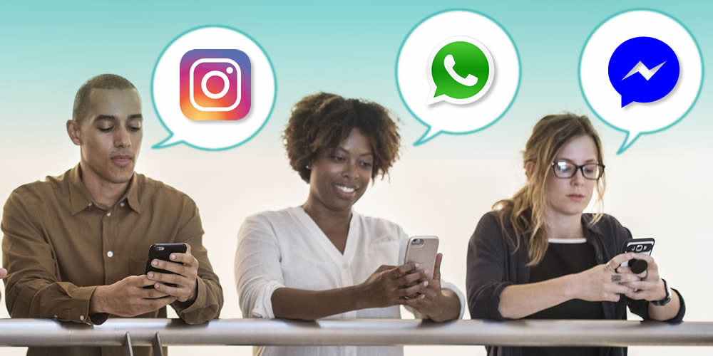 WhatsApp, Facebook Messenger e Instagram Direct terão Chats integrados